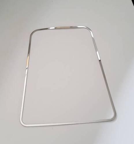 D seat ibiza 6j//6p marco de cromo para schaltkulisse-acero inoxidable pulido