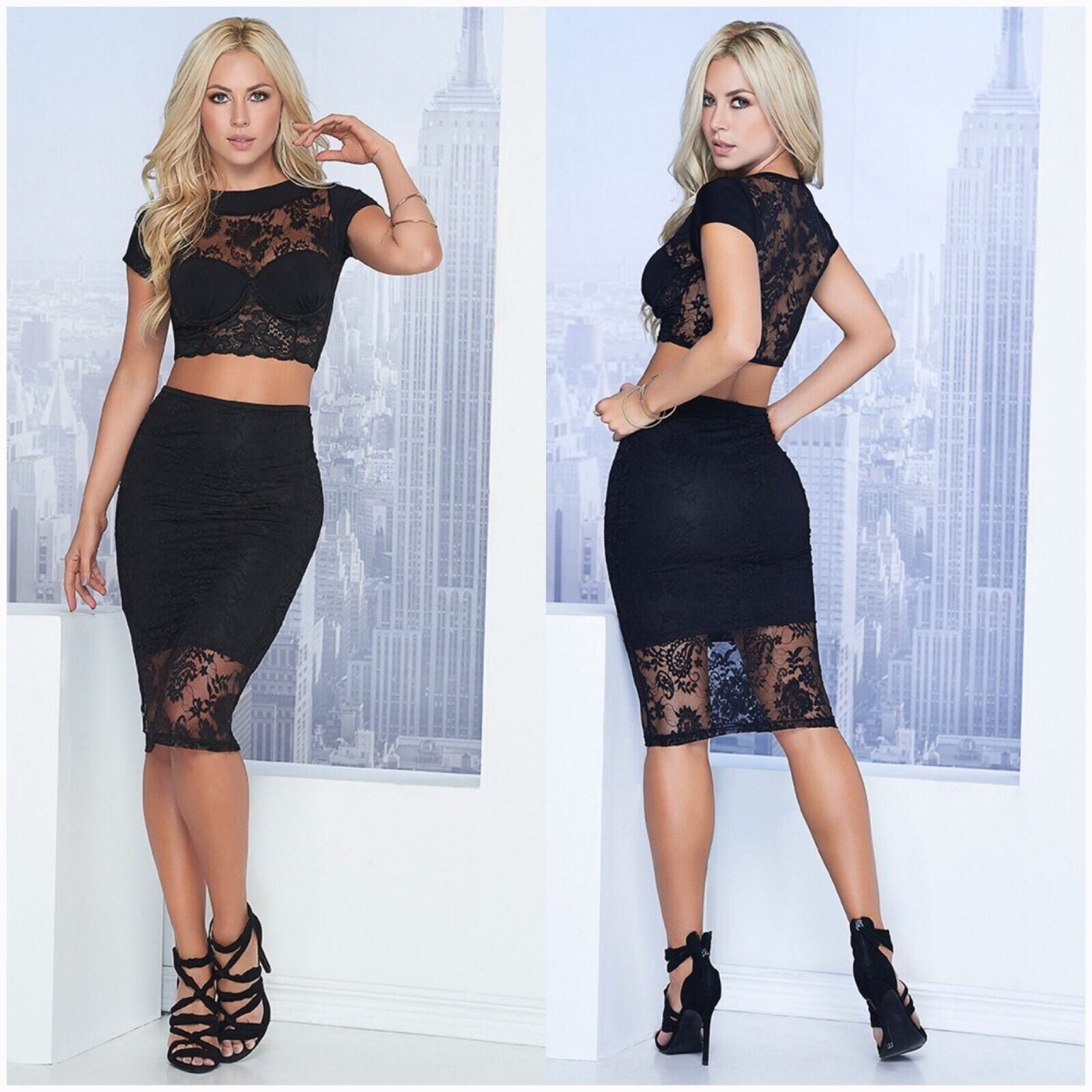 Colombian 2-Piece Dress -New Collection Size Available S,M,L