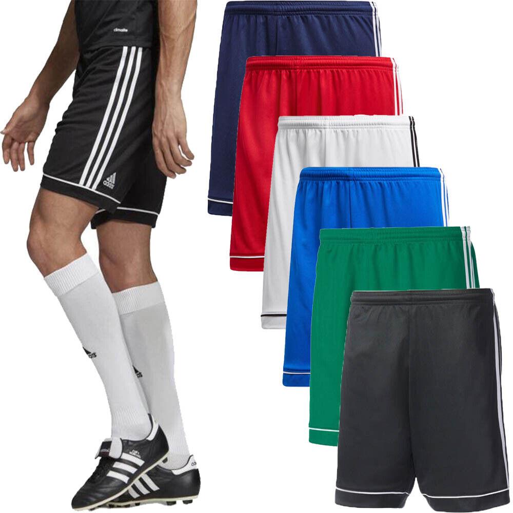 Adidas Mens Shorts Squadra 17 Running Sports Gym Football Shorts Climalite Size