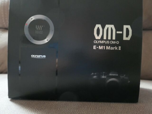 Olympus OM-D E-M1 Mark II 20.4 MP Digital Camera  in new condition free  bag