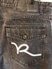 HUGE MARKDOWN‼ Men's Roca Wear Size 40 X 32 Eye Catching Blue Jeans