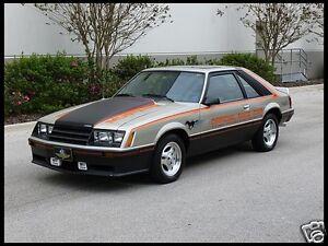 1979 ford mustang cobra 5 0 pace car 2 refrigerator magnet. Black Bedroom Furniture Sets. Home Design Ideas