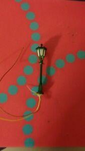 Inquiet Brawa 5000 Ho 1:87 Lampadaire Style Antique De La Ville Illuminé Hauteur Mm.60 Utilisation Durable