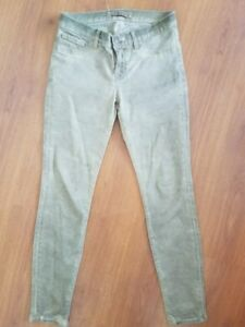 J-BRAND-Jeans-The-Skinny-size-27-x-28-Antiqued-Tan-Brown-Stretch