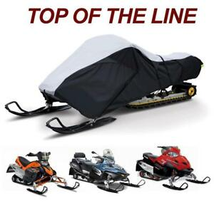 Trailerable Snowmobile Snow Machine Sled Cover fits Yamaha Vmax 700 Deluxe 1999 2000 2001 2002 2003