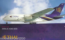 Hogan Ali 1:200 Airbus A380 Tailandese Airways HS-TUC LI0953GR+Herpa-wings