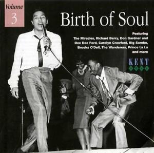 BIRTH-OF-SOUL-VOLUME-3-Various-NEW-amp-SEALED-NORTHERN-RARE-SOUL-CD-KENT-60s-R-amp-B