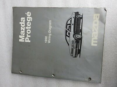 1998 Mazda Protege Electrical Wiring Diagrams Service Repair Manual OEM  Factory | eBay | 1998 Mazda Protege Wiring Diagram |  | eBay
