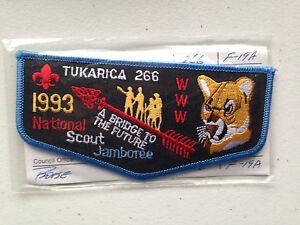 TUKARICA-OA-LODGE-266-SERVICE-SCOUT-PATCH-1993-JAMBOREE-MINT-RARE