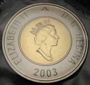 2003 - $2 - Polar Bear - O.E. ( Crowned ) - Proof Like - Sealed In Original Film