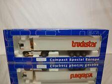 JOAL CSE DAF 95XF TRUCK + TRAILER TRUCKSTAR - WHITE 1:50 - GOOD IN BOX
