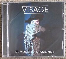 VISAGE Demons To Diamonds Cd New Sealed David Bowie Steve Strange Fade To Grey