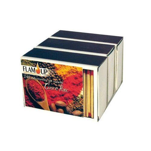 3298960801936 3 boîtes de 240 allumettes pour la cuisine de FLAM UP FLAM UP