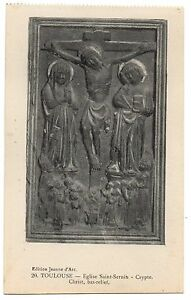 CPA-31-TOULOUSE-Haute-Garonne-20-Eglise-Saint-Sernin-Crypte-Christ