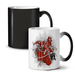 Warrior Fantasy Katana NEW Colour Changing Tea Coffee Mug 11 oz | Wellcoda