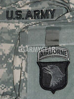 101st Airborne Division Acu Patch Set+ Us.army Tab-uniform Shirt Jacket M 65