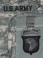 101st Airborne Division Acu Patch Set+ Us.army Tab-uniform Shirt Jacket M 65