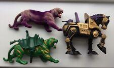 Vintage He-Man Figures Battle Cat Stridor Pantor