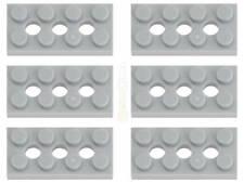 10x LEGO® 3020 2x4 Platte neu-dunkelgrau NEU dark bluish gray plate