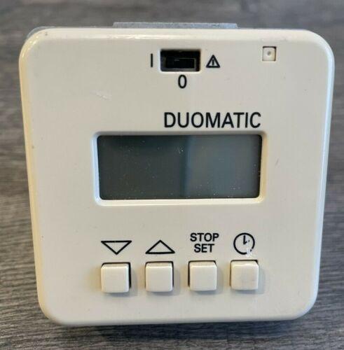 Duomatic Presto Typ 7081 Rollladen Steuerung Zeitschaltuhr Rolladenmotor Antrieb