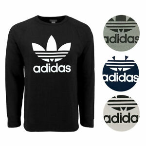 New-With-Tags-Mens-Adidas-Trefoil-Athletic-Crew-Top-Sweatshirt