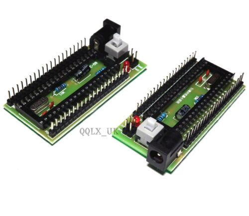 STC C51 Minimum System Development Board STC89C52 without Chip M35 SALE