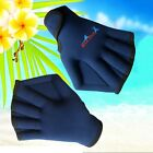 Adult Swim Webbed Nylon Swimming Training Gloves Surfing Swimming Sports Paddle