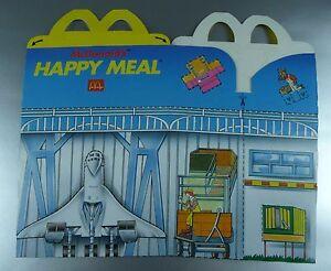 Ad #A56 Publicité Pub McDONALD/'S /& RONALD /'Trousse à trucs/' Fast food 1983