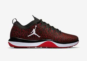 8b89bdabe104ec Air Jordan Trainer 1 Low Men s Size 13 Shoes Black Gym Red Banned ...