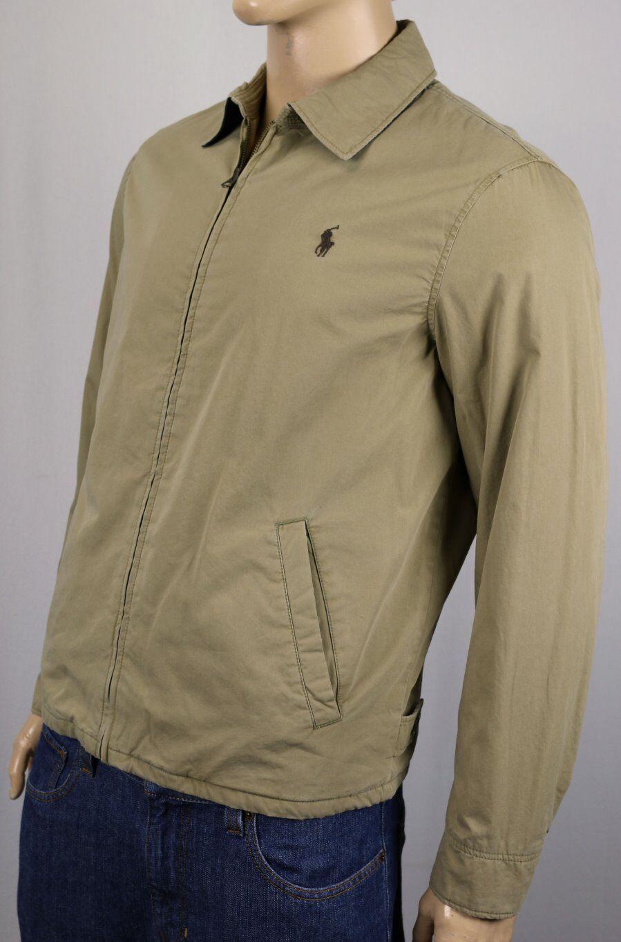 ee4e9ae4c Polo Ralph Lauren Khaki Jacket Coat Brown Pony NWT $165