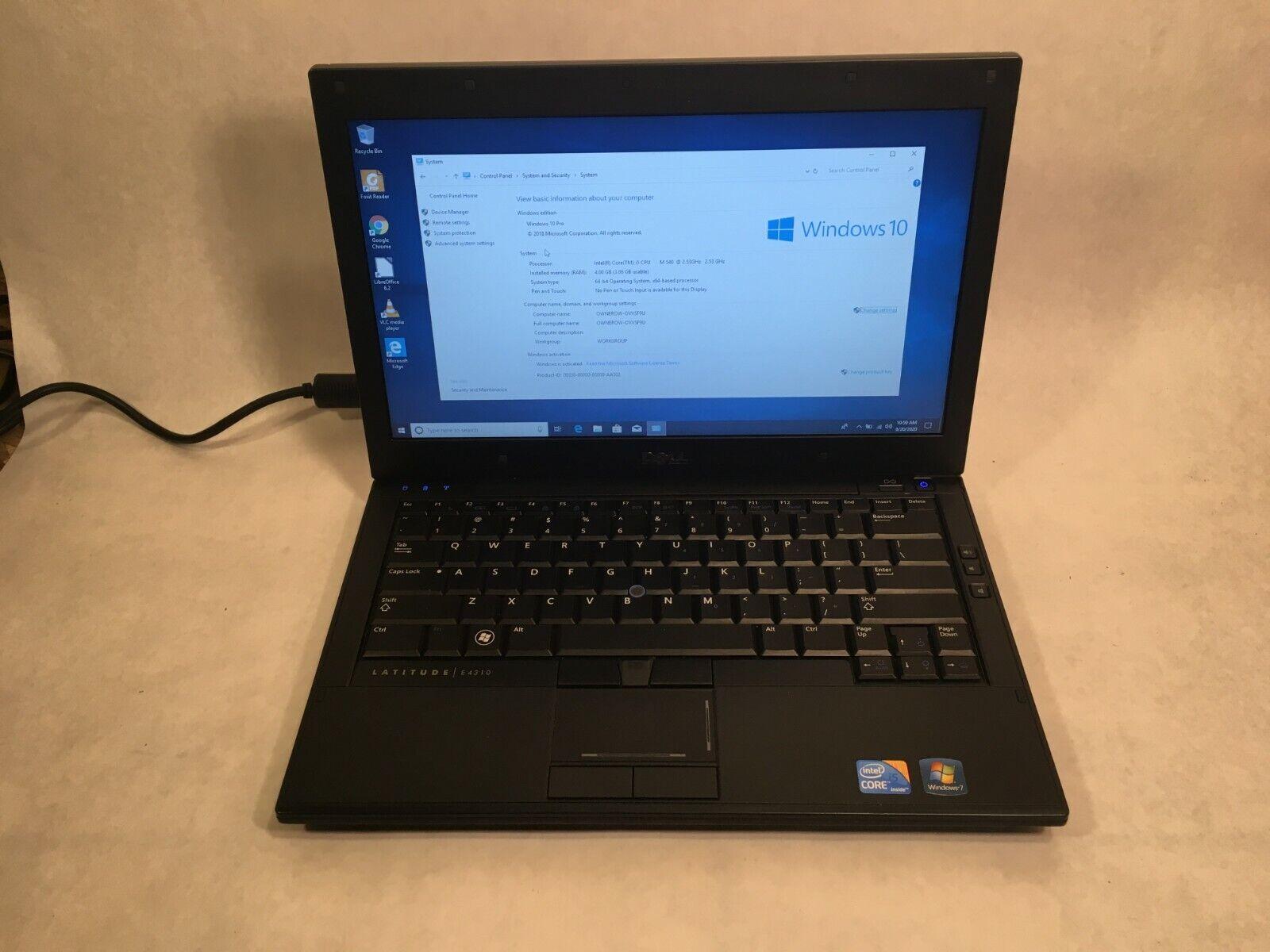 "Dell Latitude E6400 14"" Laptop Intel - FAST - 4GB RAM 160GB HDD Windows 7"