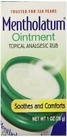 Mentholatum Ointment Jar Aromatic Cold Care - 1 oz on Sale