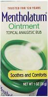 Mentholatum Ointment Jar Aromatic Cold Care - 1 oz on Sale