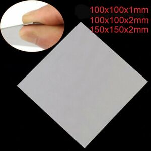 Details about Titanium Alloy Metal Sheet Metal Square Plate Panel Cut 1-2mm  THICK