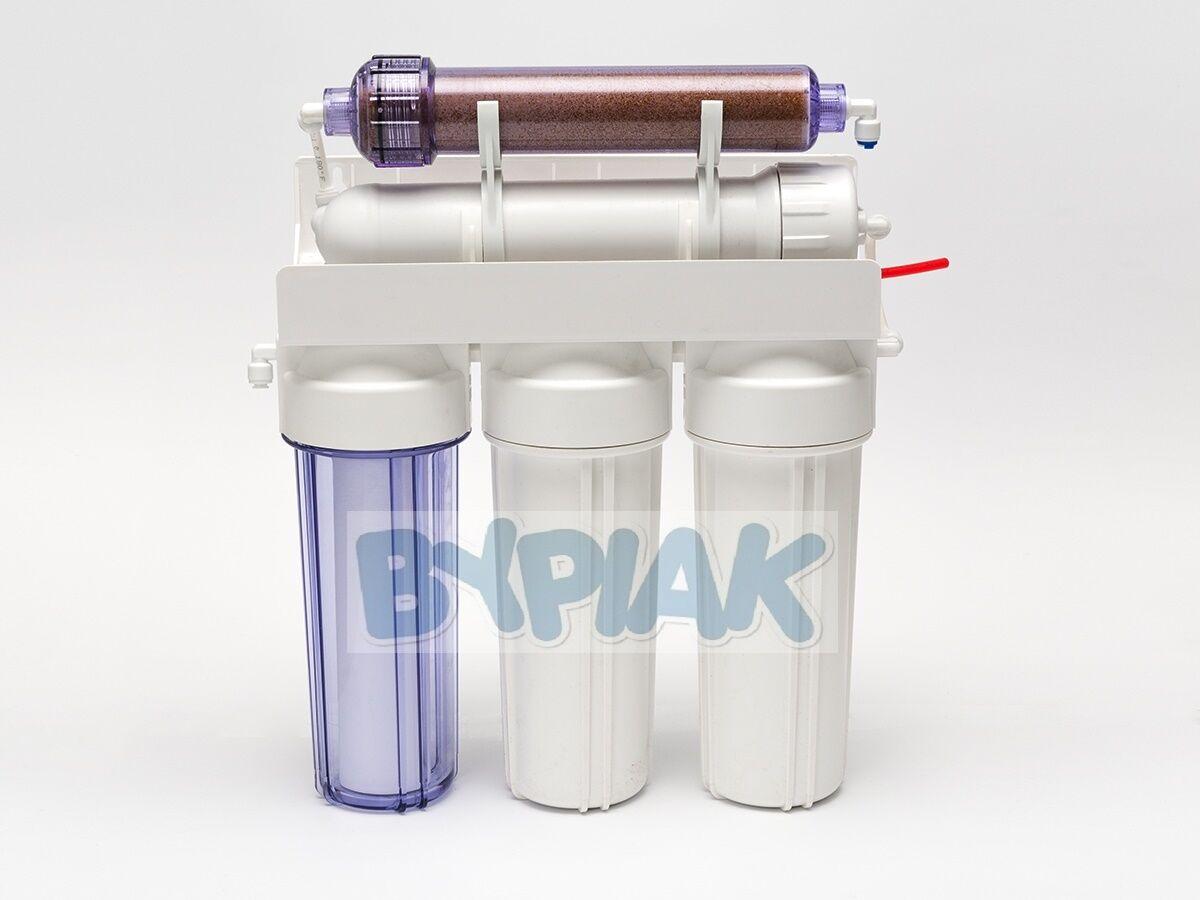 5 Fase RO con DI resina ricaricabili ricaricabili ricaricabili Osmosi Inversa Filtro Acqua 50GPD 0ba4d4