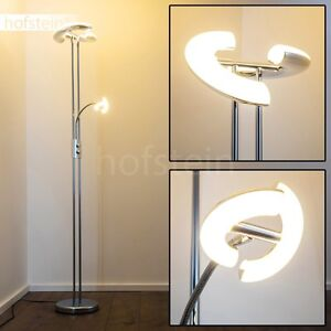 lampadaire vasque led lampe de sol design lampe sur pied lampe de salon 147874 ebay. Black Bedroom Furniture Sets. Home Design Ideas