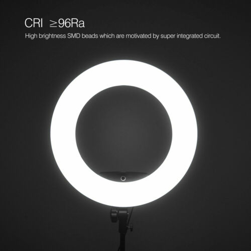 96W FD480II 3200-5500K Dimmable LED Ring Light For MakeUp Live Portrait Shooting