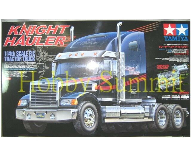 56314  Tamiya R/C 1/14 Scale  KNIGHT HAULER  Tractor Truck Model  Kit  3-Speed