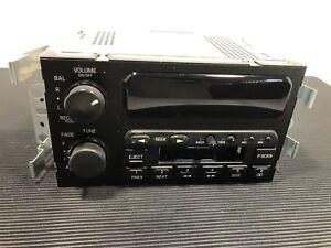 Buick-Regal-Century-AM-FM-Stereo-Cassette-Radio-Part-09364604-21186-1996-99-OEM