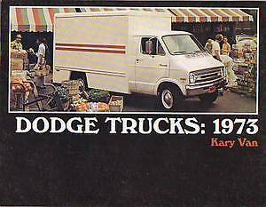 1973-Dodge-Kary-Van-Sales-Catalog-new-from-dealer