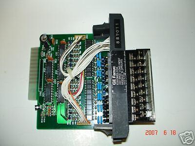 GE Fanuc IC610MDL112A 24VDC Source Input 16 pts