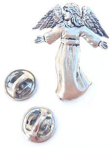 Ange Fabriqué à la Main en Étain Massif en Ru Insigne de Goupille de Revers ncPxA8Yo-09093512-289832405