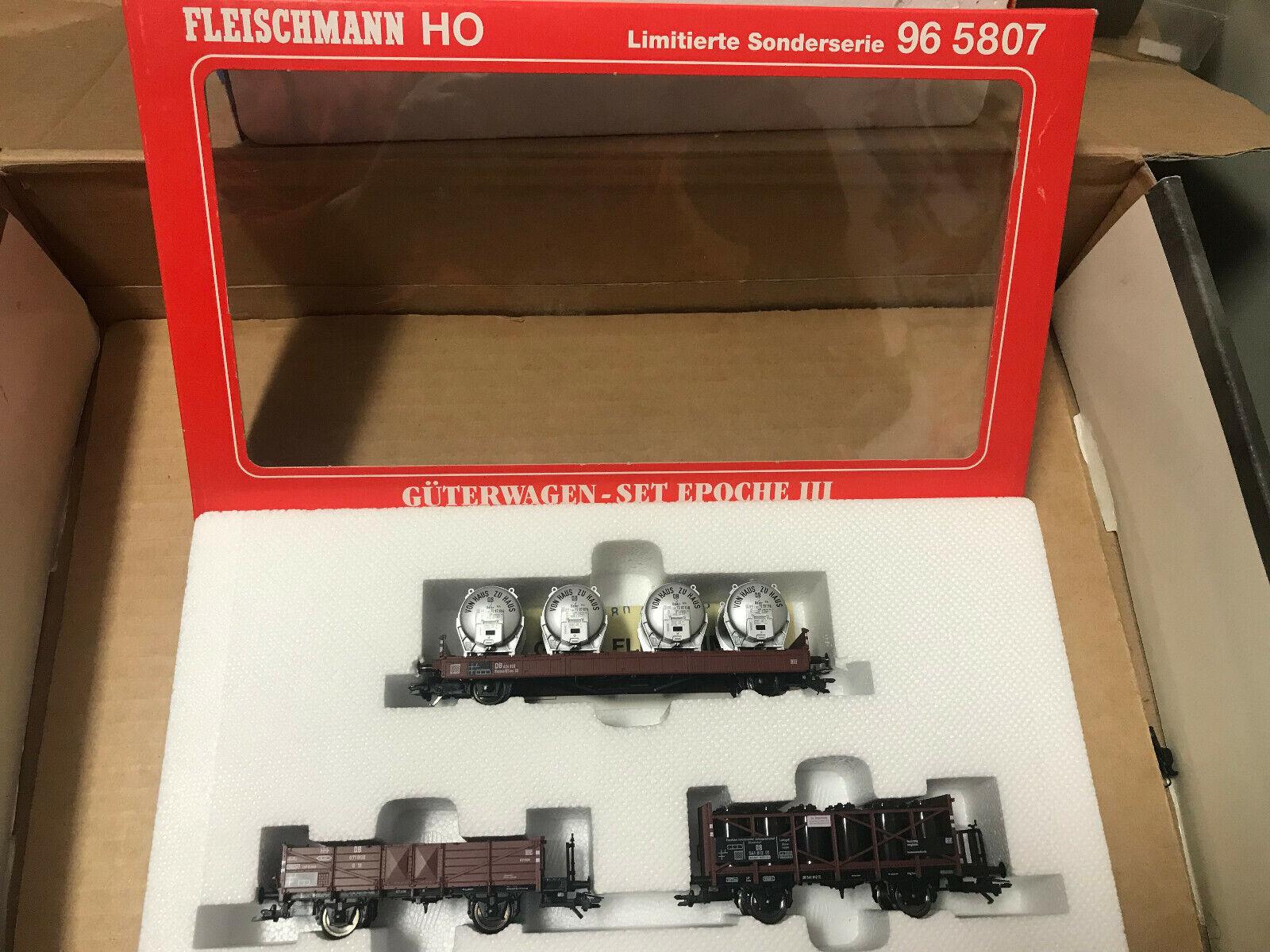 Fleischuomon 96 5807 h0 serie specialee autori merciSet DBepoca 3 NUOVO  OVP