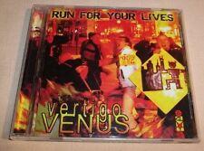 RARE: Vertigo Venus - Run For Your Lives (CD, 2007) VGC
