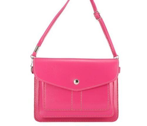 Uk shop free p/&p Clutch bag faux leather Purse 8 colours high quality