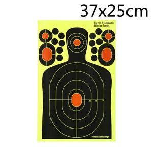 1x-Realistic-Hostage-Target-Splatter-Adhesive-Target-Sticker-Hunting-Shooting-yb