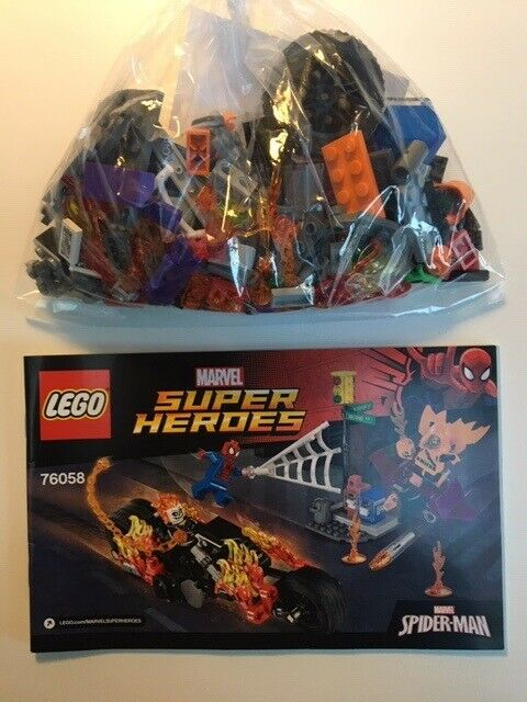 Lego Super heroes, 76017, 76058