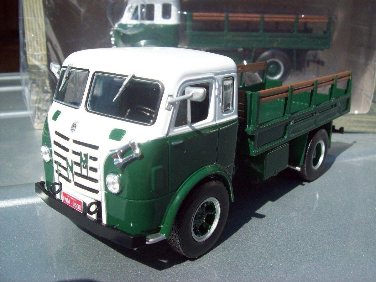 Classique de camions du Brésil-FNM D-9500 BRASINCA 1957-IXO ALTAYA
