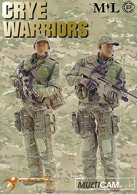 Crye Warriors: Spanky 1//6 Scale MIL Action Figures Drop Leg Panel /& Cloth