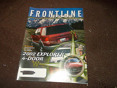2011 FORD EXPLORER INTRODUCTION FRONTLINE DEALER ONLY MAGAZINE BROCHURE RARE